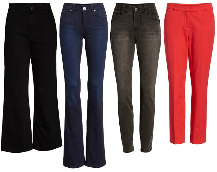 Pants for white tops | 40plusstyle.com