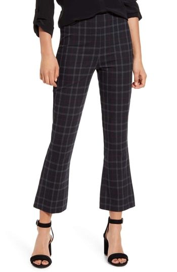 plaid pants for women over 40 | 40plusstyle.com