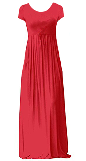 red maxi dress | 40plusstyle.com