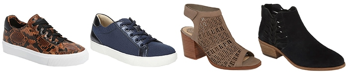 Shoes to wear with your casual skirts | 40plusstyle.com