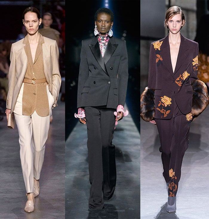 Smart suits in the fall 2019 trends   40plusstyle.com
