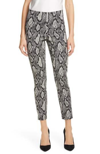 snake skin patterned pants | 40plusstyle.com