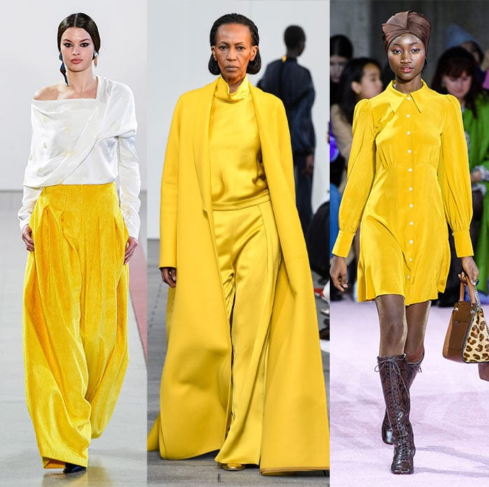 Sunshine yellow color trends | 40plusstyle.com