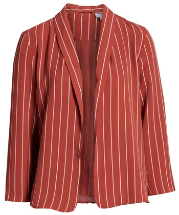 Cropped blazer | 40plusstyle.com