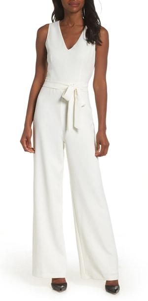 white jumpsuit | 40plusstyle.com