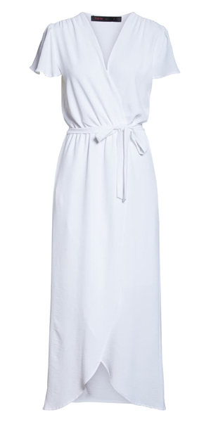 white maxi dress | 40plusstyle.com