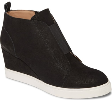Linea Paolo 'Felicia III' wedge sneaker | 40plusstyle.com