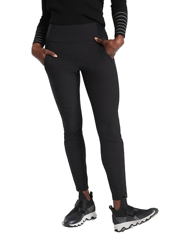 Athleta hybrid trek tights | 40plusstyle.com