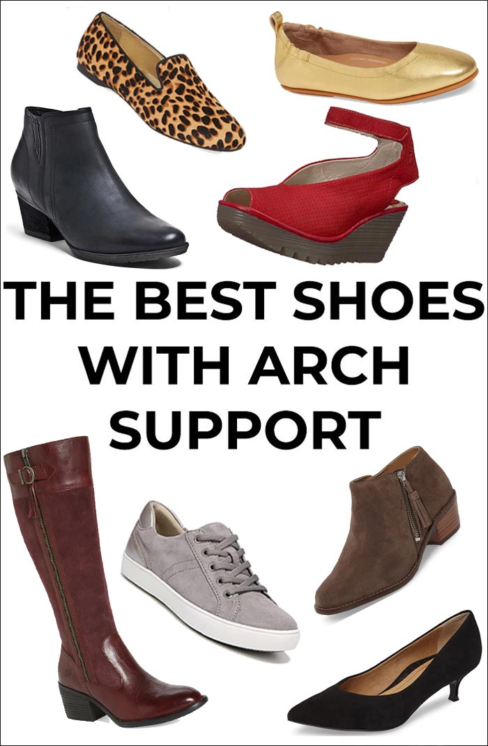 Best shoes with Arch Support | 40plussyle.com