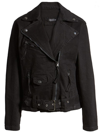 black denim jacket | 40plusstyle.com