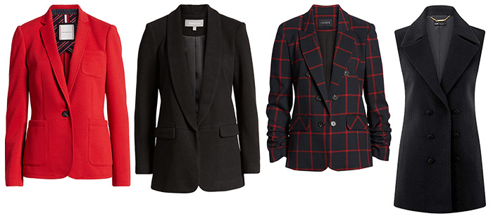 Blazers to wear with jeans to work | 40plusstyle.com