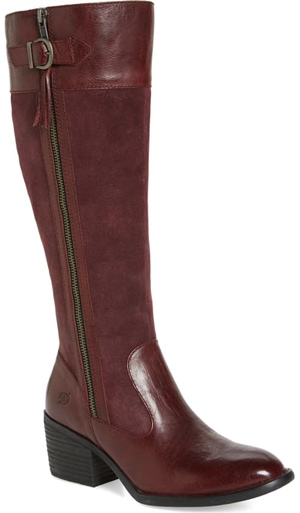 Born Uchee knee length boot | 40plusstyle.com