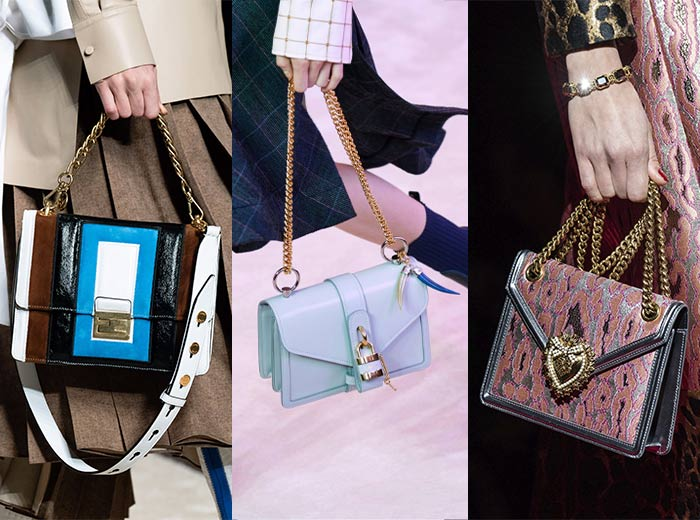 Chain strap bags | 40plusstyle.com