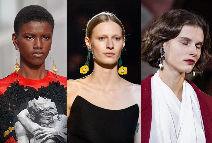 Delicate dangling earrings   40plusstyle.com