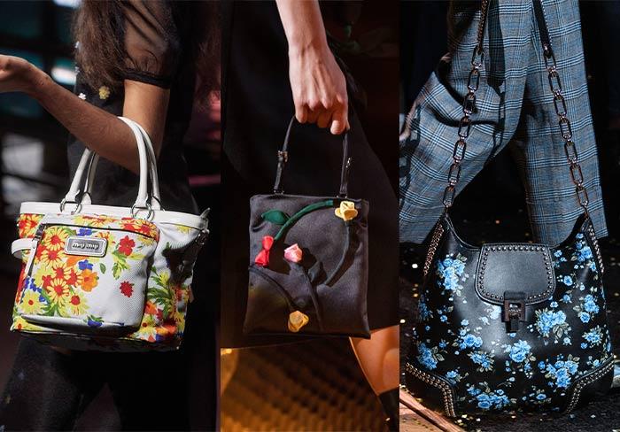 Key handbag trend: Floral bags | 40plusstyle.com