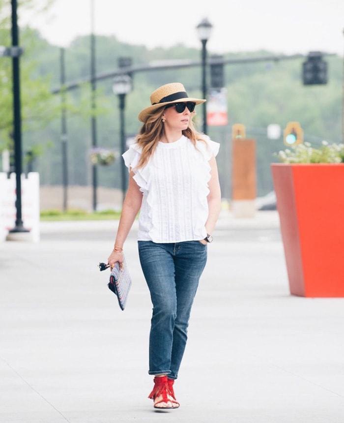 Essential fashion accessory: hat | 40plusstyle.com