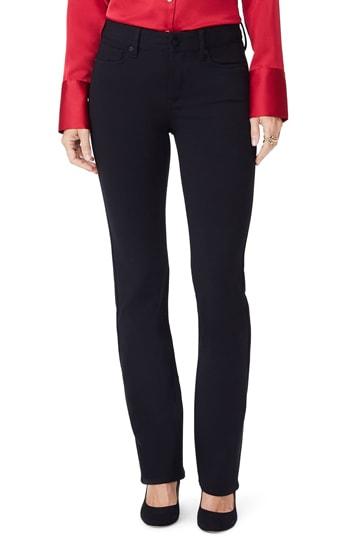 NYDJ straight leg ponte pants | 40plusstyle.com