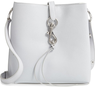 Rebecca Minkoff 'Megan' leather shoulder bag | 40plusstyle.com