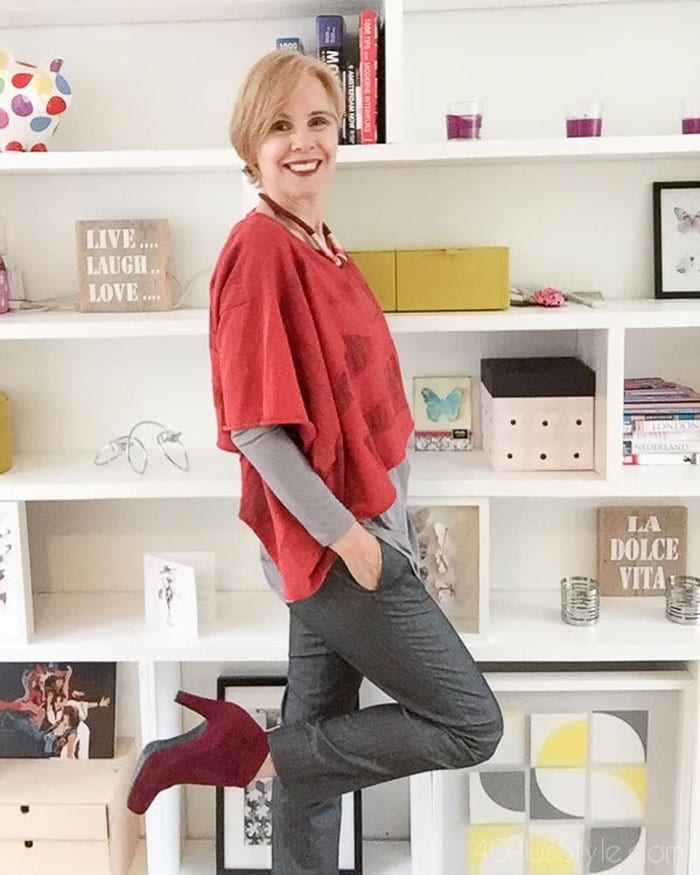 Essential fashion accessory: confidence! | 40plusstyle.com
