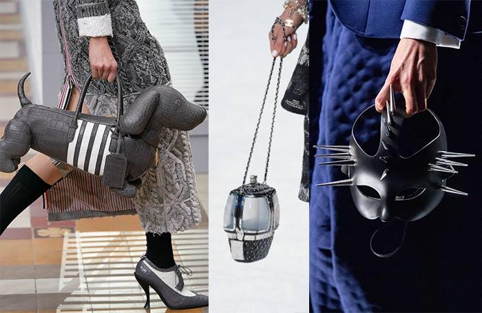 Bags with unique shapes | 40plusstyle.com