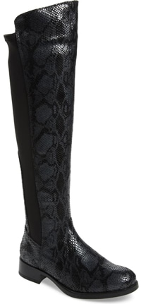 Bos. & Co. Bunt waterproof over the knee boot | 40plusstyle.com