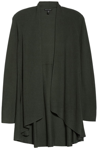 Eileen Fisher cashmere cardigan | 40plusstyle.com