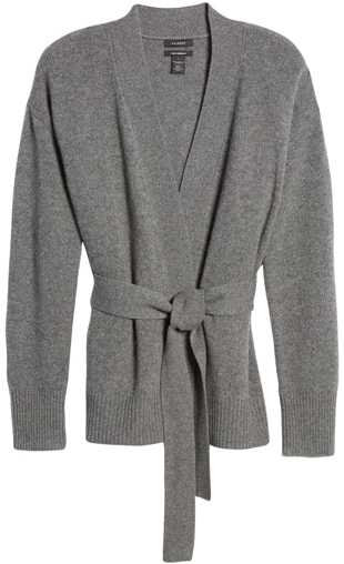 a cashmere cardigan | 40plusstyle.com