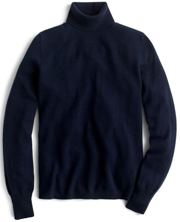 navy cashmere jumper | 40plusstyle.com