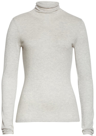 turtleneck cashmere sweater | 40plusstyle.com