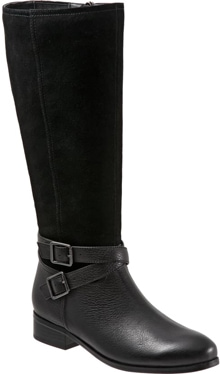 Trotters Larkin knee high boot | 40plusstyle.com