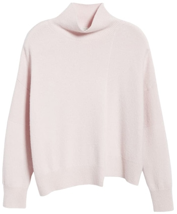 Knitwear with an interesting neckline | 40plusstyle.com