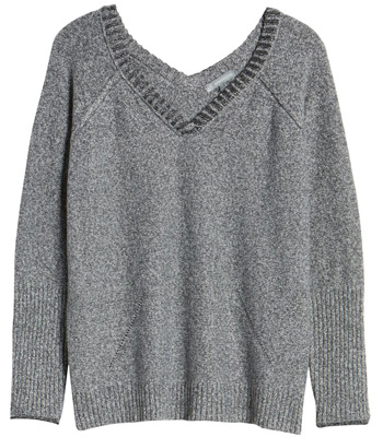 v-necks are perfect after weight loss | 40plusstyle.com