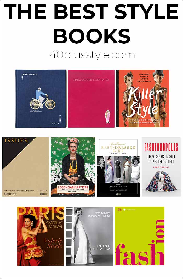 The best style books | 40plusstyle.com
