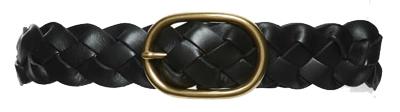 Treasure & Bond braided belt | 40plusstyle.com
