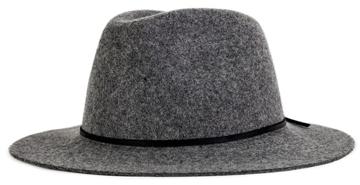 wool felt fedora | 40plusstyle.com