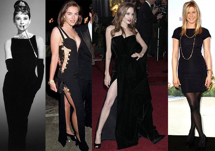 Celebrities in perfect little black dresses   40plusstyle.com