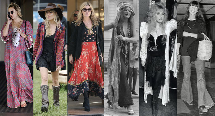 Celebrities with a bohemian style personality | 40plusstyle.com