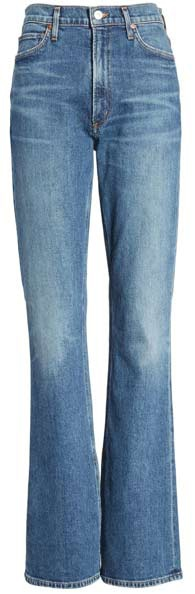 Citizens of Humanity high waist bootcut jeans | 40plusstyle.com