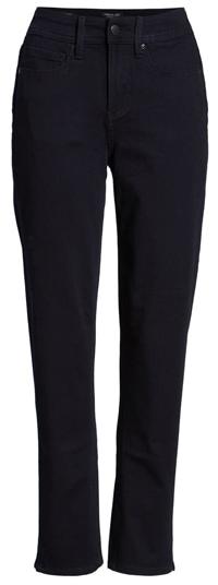 Curves 360 by NYDJ slim straight leg jeans | 40plusstyle.com