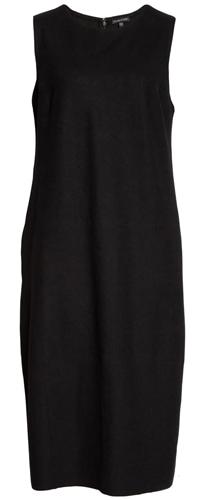 Eileen Fisher lantern dress | 40plusstyle.com