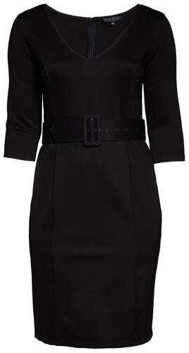 Eloquii belted sheath dress | 40plusstyle.com