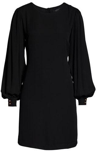 Forest Lily chiffon shift dress | 40plusstyle.com