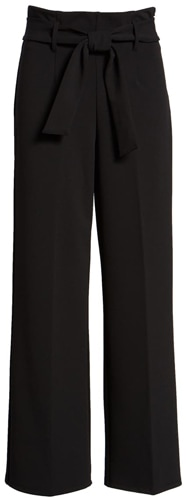 Leith high waist belted pants | 40plusstyle.com