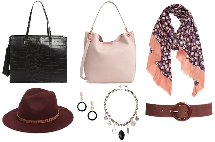 Accessories to wear if you have a pear shaped body | 40plusstyle.com