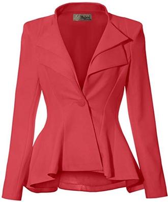 peplum blazer styles | 40plusstyle.com