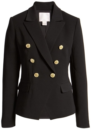 Rachel Parcell fitted blazer | 40plusstyle.com