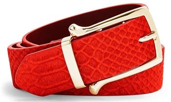 Topshop croc belt | 40plusstyle.com