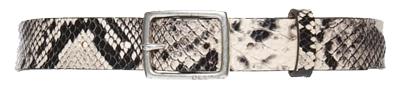 Rag & Bone leather boyfriend belt | 40plusstyle.com