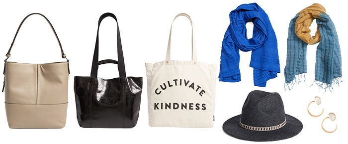 sustainable accessories | 40plusstyle.com