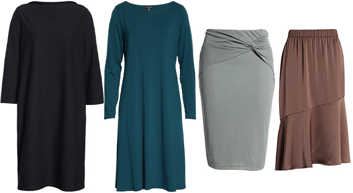 dresses and skirts | 40plusstyle.com